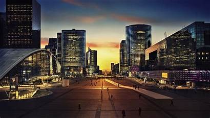 Night Paris 4k Triomphe Arc Background Widescreen