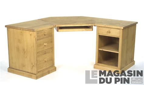 bureau d angle en pin bureau d angle en pin homeezy