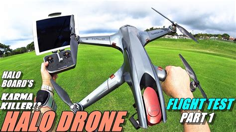 gopro karma killer halo drone pro flight test review part   tx tracker  top