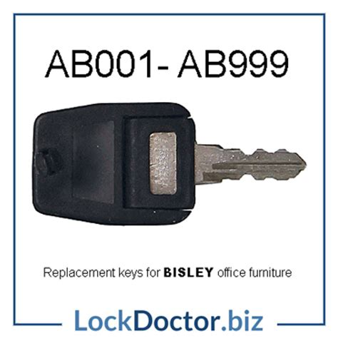 Bisley File Cabinet Replacement Key by Ab001 Ab999 Bisley Key Lock Doctor
