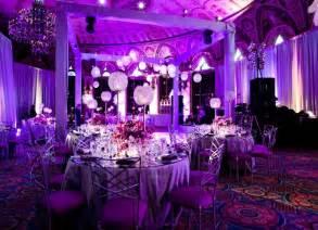 purple wedding ideas sophisticated purple wedding table decorations