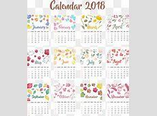 Cute 2018 Calendar calendar for 2019