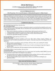 resume sle summary statement 28 images resume summary