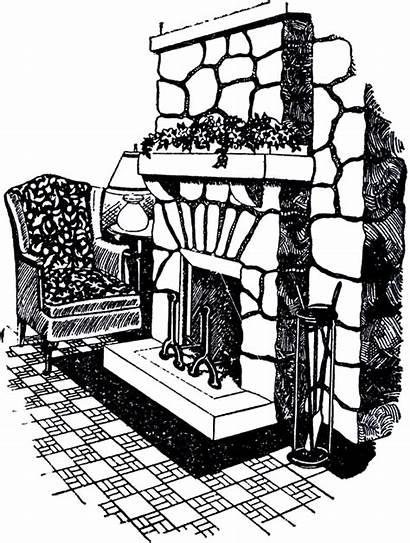 Fireplace Stone Graphics Fairy Thegraphicsfairy