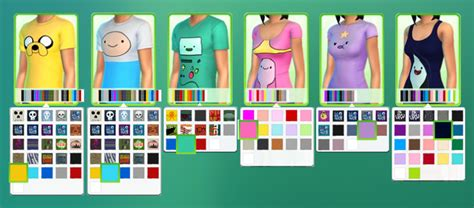 Adventure Time Tops For Male And Female