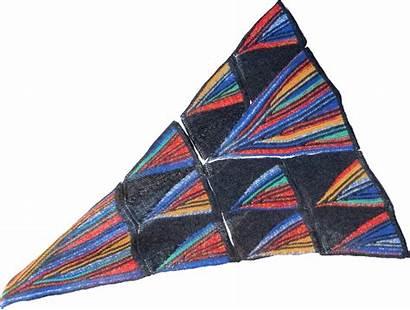 Knotions Knitting Shawl Pattern Garter Prism Effect