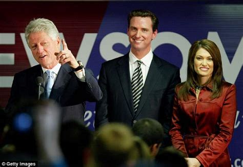 newsom gavin guilfoyle kimberly trump governor san wife francisco married jr donald california mayor fox young current former democrat previously