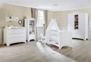Kinderzimmer In Weiß : pinolino chambre bebe pino lit commode langer pinolino lit et commode ~ Indierocktalk.com Haus und Dekorationen
