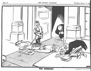 David Low cartoon from 1933 regarding the Japanese ...