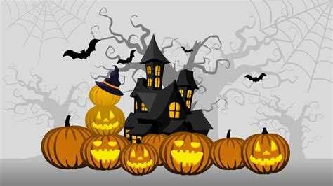halloween powerpoint background slidemodel