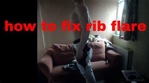How To Fix Rib Flare  Youtube