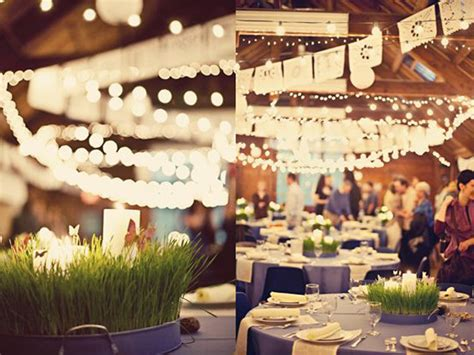 wedding wheatgrass decor ideas
