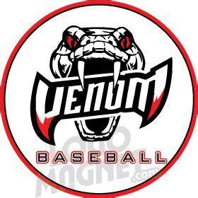 venom baseball custom car magnet logo magnet