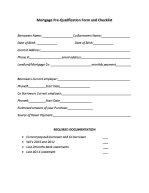 Pre Qualification Template by Telephone Message Form Templates Fillable Printable