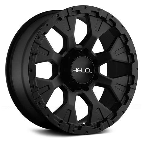black wheels helo he878 wheels satin black rims