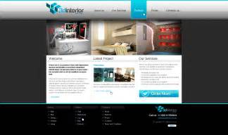 designer website 3d interior web design
