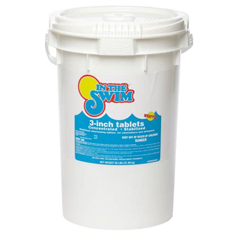 Clean Deck With Chlorine by 3 Inch Pool Chlorine Tablets Pool Sanitizer In The Swim
