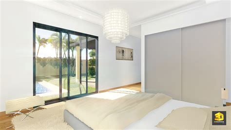 3d chambre illustrations 3d d 39 architecture villas gabriel