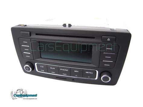 Oem 1zd035185a Car Radio Rcn210 With Rds Cd, Aux, Sd