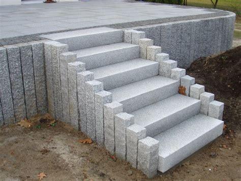blockstufen beton anthrazit preise blockstufen terranit natursteinhandels gmbh garten garten stufen eingangstreppe und