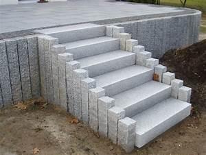 Blockstufen Beton Setzen : blockstufen terranit natursteinhandels gmbh garten garten stufen eingangstreppe und ~ Orissabook.com Haus und Dekorationen