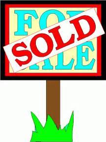 Real Estate Sold Sign Clip Art