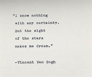 50 Best Vincent... Certainty Love Quotes