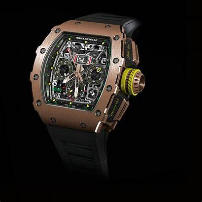 Mille Richard Rm Flyback Chronograph Automatic Rose