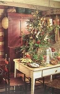 Primitive Christmas decorating on Pinterest
