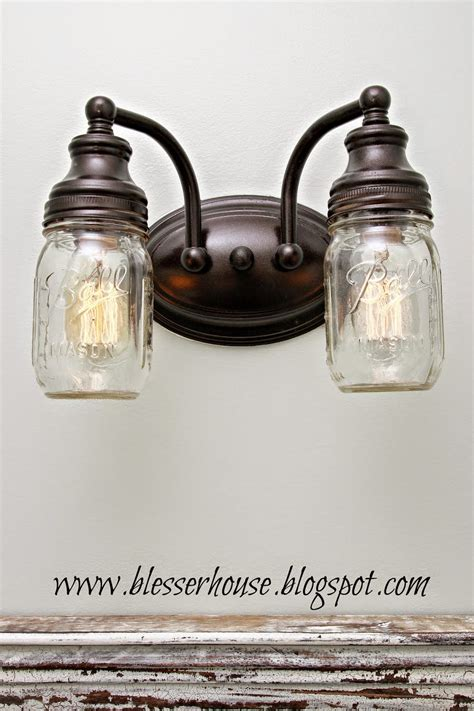 diy jar light fixture home made modern diy light fixtures