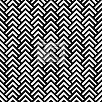 papier peint noir et blanc chevron seamless g 233 om 233 trique