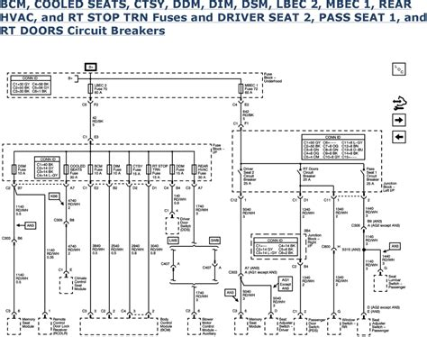 03 Suburban Ignition Switch Wiring Diagram by Repair Guides Wiring Systems And Power Management