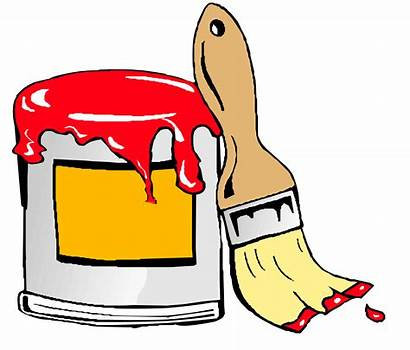Paint Tin Clipart Brush Animation Openclipart Clip