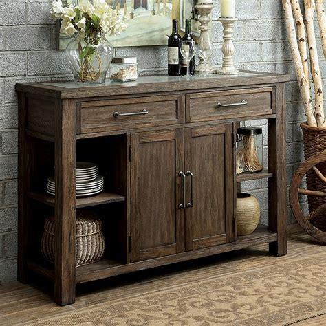 oak cabinets in kitchen colettte contemporary rustic oak finish dining server 3562