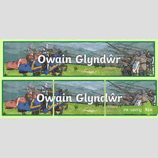 Baner Arddangos Owain Glyndwr  Tywysog, Prince, Cymru, Wales