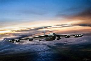 B-52 Inbound Digital Art by Peter Chilelli