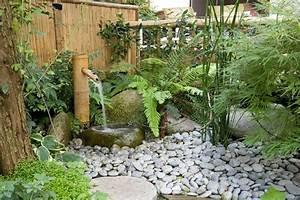 Fontaine Exterieur Zen : fontaine bambou exterieur my preziosa ~ Nature-et-papiers.com Idées de Décoration