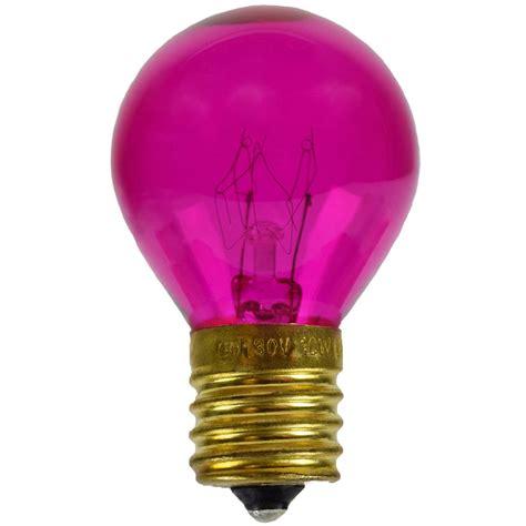 pink replacement light bulbs