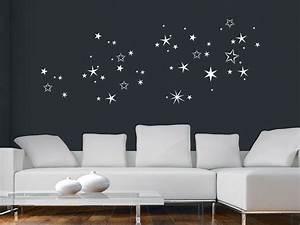 Sternenhimmel Fürs Schlafzimmer : wandtattoo weihnachts sterne sternenhimmel wandtattoo de ~ Michelbontemps.com Haus und Dekorationen
