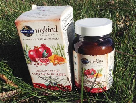 Garden Of Hair Skin Nails by Giveaway Mykind Organics Plant Collagen Hair Skin