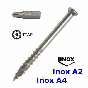 Visserie Inox A4 : vis pour terrasse exterieure en bois inox a2 ou a4 swg ~ Edinachiropracticcenter.com Idées de Décoration