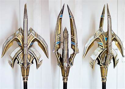 Staff Wizard Protoss Props Cosplay Fantasy Cool