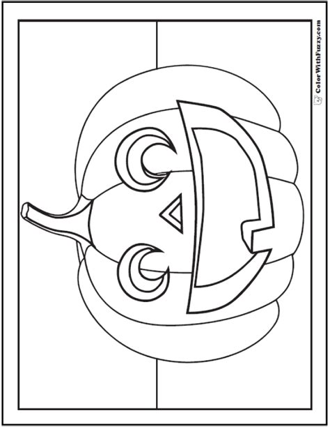 halloween printable coloring pages customizable