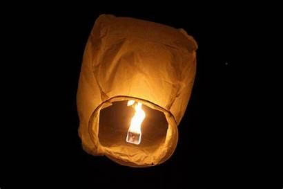 Lantern Lanterns Releasing Wishing Festival Lotus Air