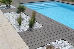 awesome plage piscine galet photos amazing house design With tour de piscine en galet