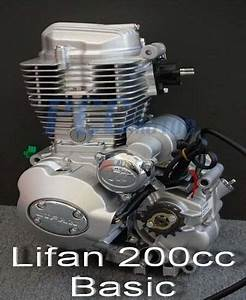 Lifan 200cc 5 Spd Engine Motor Motorcycle Dirt Bike Atv M