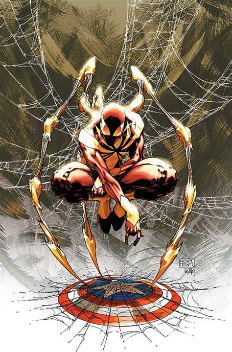 Spiderman Civil War Suit Fan Art  Iron Spider — Geektyrant