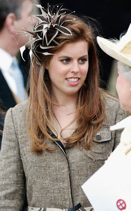 Princess Beatrice and Eugenie wear low-key hats to the royal wedding