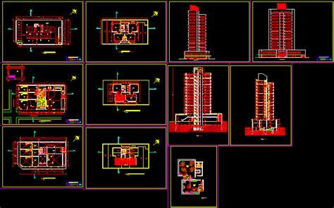 comercial building dwg section  autocad designs cad