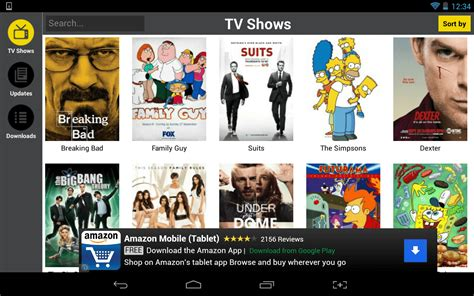 showbox app for android android and many tv shows for free with